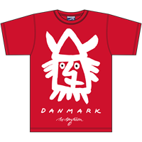 VIKING RØD T-SHIRT