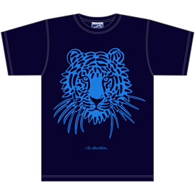 TIGER NAVY T-SHIRT