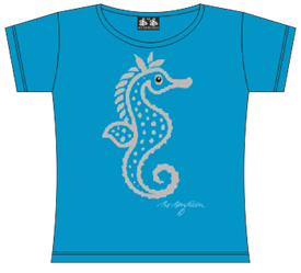 SØHEST TURKIS T-SHIRT