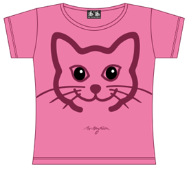 KAT HOVED PINK T-SHIRT