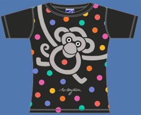 MONKEY DOT SORT T-SHIRT