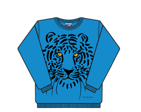 TIGER SWEATSHIRT BLÅ