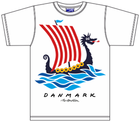 DRAGE SKIB T-SHIRT